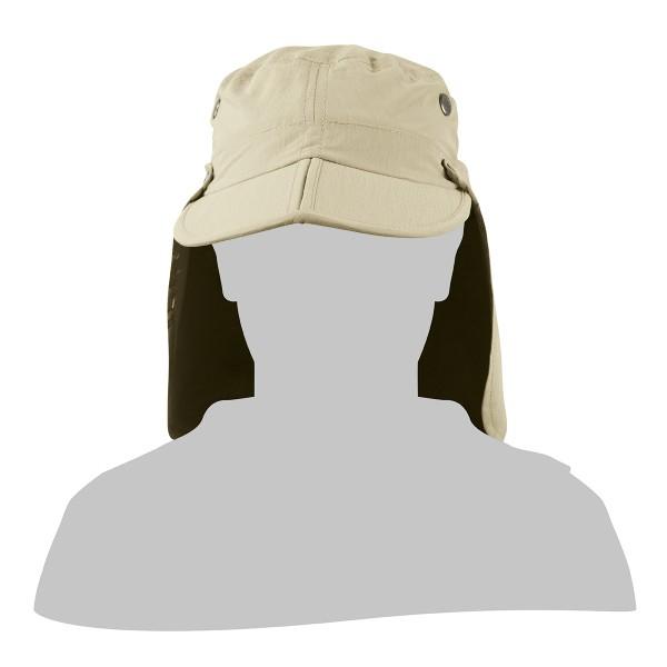 Eanes Kappe mit abnehmb. Nackenschutz